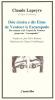 """Du sommet et de l'esprit du Ventoux jusqu'aux """"escampades"""", Claude Lapeyre"""